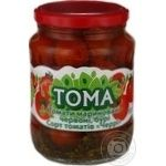 Vegetables tomato Toma pickled 680g glass jar