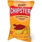 Чипсы Flint Chipster's картофельные волнистые Телятина с аджикой 70г