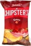 Чіпси натуральні зі смаком бекону Flint Chipster's 70г