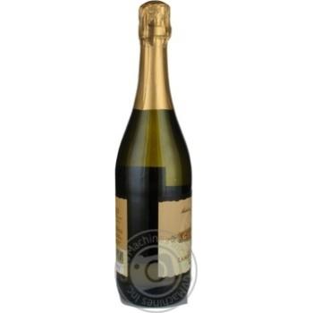 Вино игристое Giacondi Frizzante Lambrusco Bianco Amabile Emilia белое полусухое 7,5% 0,75л - купить, цены на Novus - фото 3