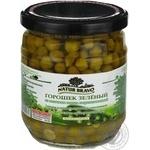 Vegetables pea Natur bravo Private import sterilized 430ml