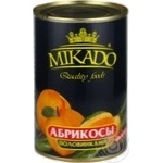 Fruit apricot Mikado in syrup 410g