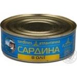 Fish sardines Baltijas №3 in oil 240g can