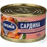 Fish sardines Premiya №5 canned 240g