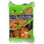Печенье Премія с семечк подсолн, арахисом и изюмом 200г