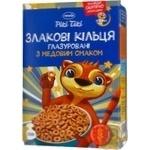 Кольца зерновые Премія Рікі Тікі вкус меда глазир 250г