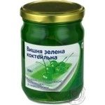 Fruit cherry Povna chasha green in syrup 308g