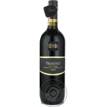 Вино Feudo Monaci Primitivo Salento IGT 0,75л