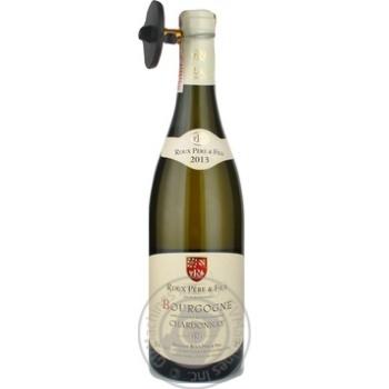 Вино белое сухое 12.5% 750мл