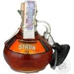 Ром Stroh 40% 0,2л