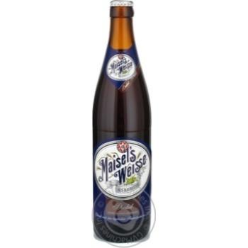 Пиво Maisel's Weisse Dunkel солодове темне 0,5л