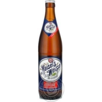 Пиво Maisel's Weisse Kristall светлое 0,5л