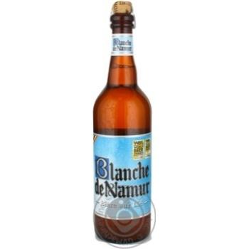 Пиво Бланш дэ намюр светлое 4.5% 750мл стеклянная бутылка