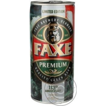 Beer Fax light 5% 1000ml can Denmark