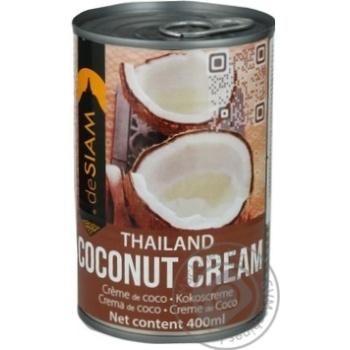 Крем deSiam кокосовый тайский 400мл