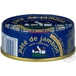 Pate Stephan with hams 80g can