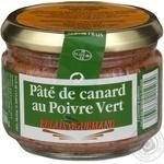 Паштет Relais Gourmand с утки с зеленым перцем с/б 180г