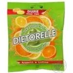 Льодяник Дієтореллі лимон-апельсин без цукру 70г