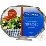 Сыр Taverna Salatost с оливк.в масл/спец.43% кор/м 100г