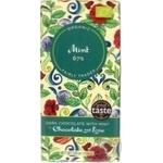 Chocolate black Chocolate and love mint 100g