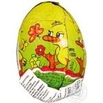 Яйцо шоколадное Космополитен 20г