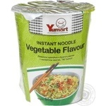 Pasta noodles Yumart with vegetables ready-to-cook 65g