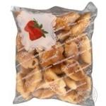 Печиво Рулетики з полуничним джемом Кулиничи 300г