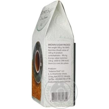 Сахар Аскания-Пак Dry Demerara коричневый 300г - купить, цены на Varus - фото 5