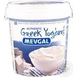 Йогурт Mevgal Греческий натуральный 10% 1кг