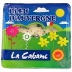 Сир La Cabane Блю Д'Овернь 52% 125г