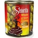 olive Senorita green canned 3000g