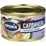Fish sardinella Premiya №5 canned 240g
