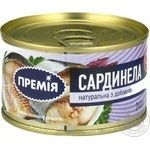 Fish sardinella Premiya with addition of butter 240g