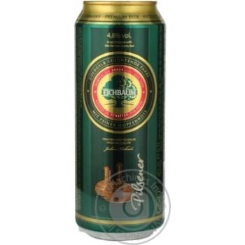 Пиво Eichbaum Premium Pils светлое ж/б 4.8% 0,5л