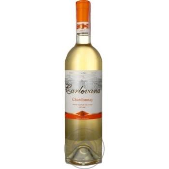 Wine white dry 12.5% 750ml glass bottle