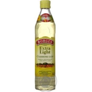 Масло оливковое Borges Extra Light 0,5л