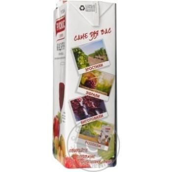 Picnic Kadarka chornomorska Wine red semi-sweet 12% 1l - buy, prices for Novus - image 2