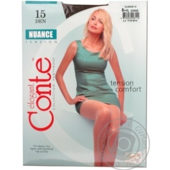 Tights Conte Nuance for women 15den 5size Belarus