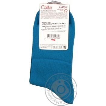 Шкарпетки жін.Conte Elegant Classic 13С64 т.бір.р25 шт - купити, ціни на CітіМаркет - фото 2