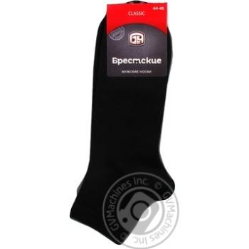 Brest Classic Men's Short Black Socks Size 29 44-45 - buy, prices for CityMarket - photo 1