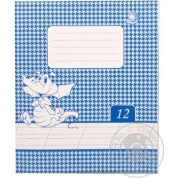 Tetrada 12 Sheets Oblique Line Excercise Book - buy, prices for Tavria V - image 1