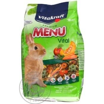 Корм для кролів Vitakraft Menu 1кг