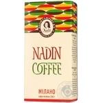 Coffee Nadin ground 200g cardboard packaging