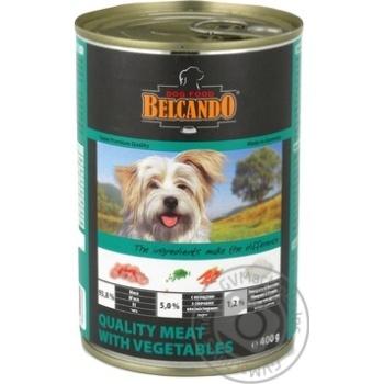 Консерва Белкандо м`ясо з овочами 400г