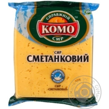Сир Комо Сметанковий 50% 230г