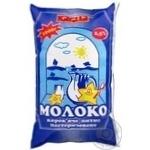 Молоко Кагма пастеризоване 2.5% 1000г плівка Україна