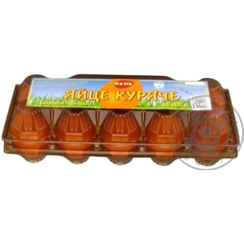 Яйцо куриное Коко С1 10шт (цвет товара на фото может отличаться от цвета товара на полке) - купить, цены на Ашан - фото 2
