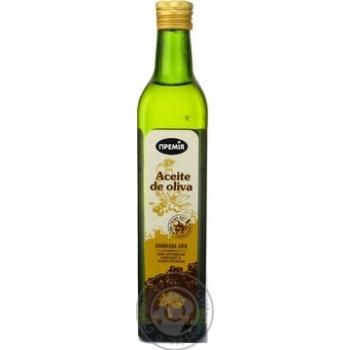 Масло оливковое Премія Pure смесь 500мл