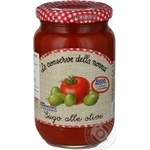 Соус Della Nonna с оливками 350г
