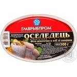 Fish herring Glavrybprom with spices preserves 300g